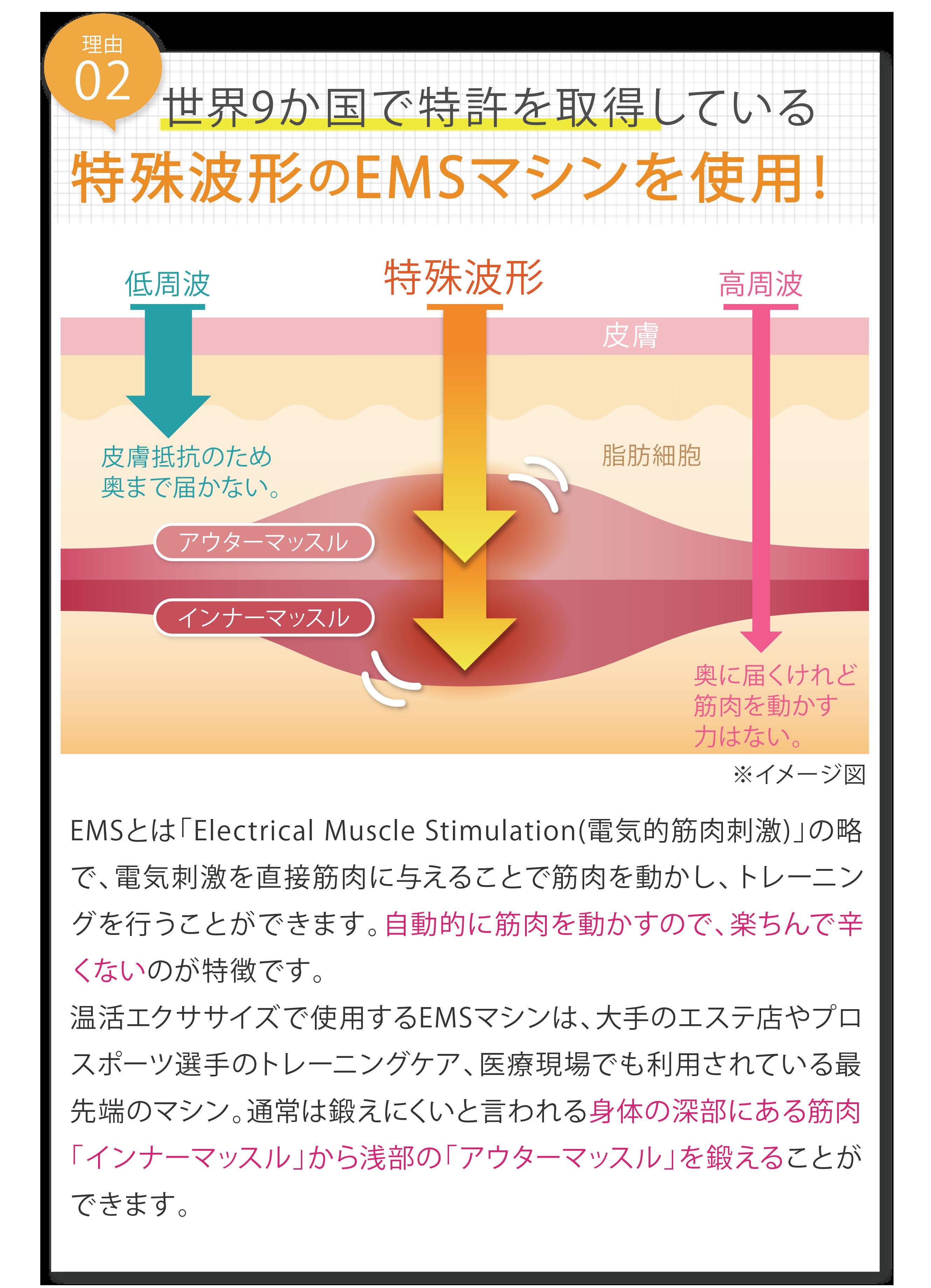 特許波形EMS